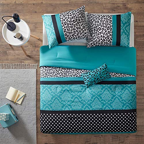 Teen Comforter 4 Piece Set (Comforter, Sham and Decorative Pillow) (Full / Queen)