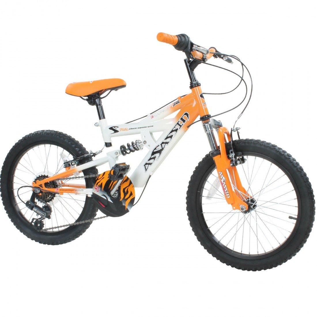 20 Zoll Kinder Mountainbike Concept Assassin Fully 2 Größen 4 Farben ...