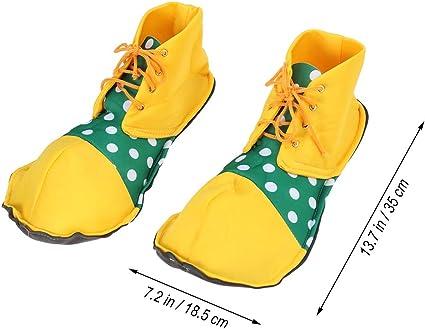 BESTOYARD Zapatos de Payaso Rendimiento de Escenario Zapatos de ...