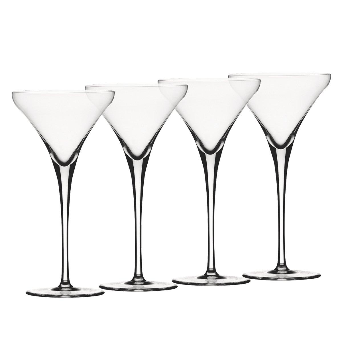 Spiegelau Willsberger Anniversary Martini Glass, Set of 4