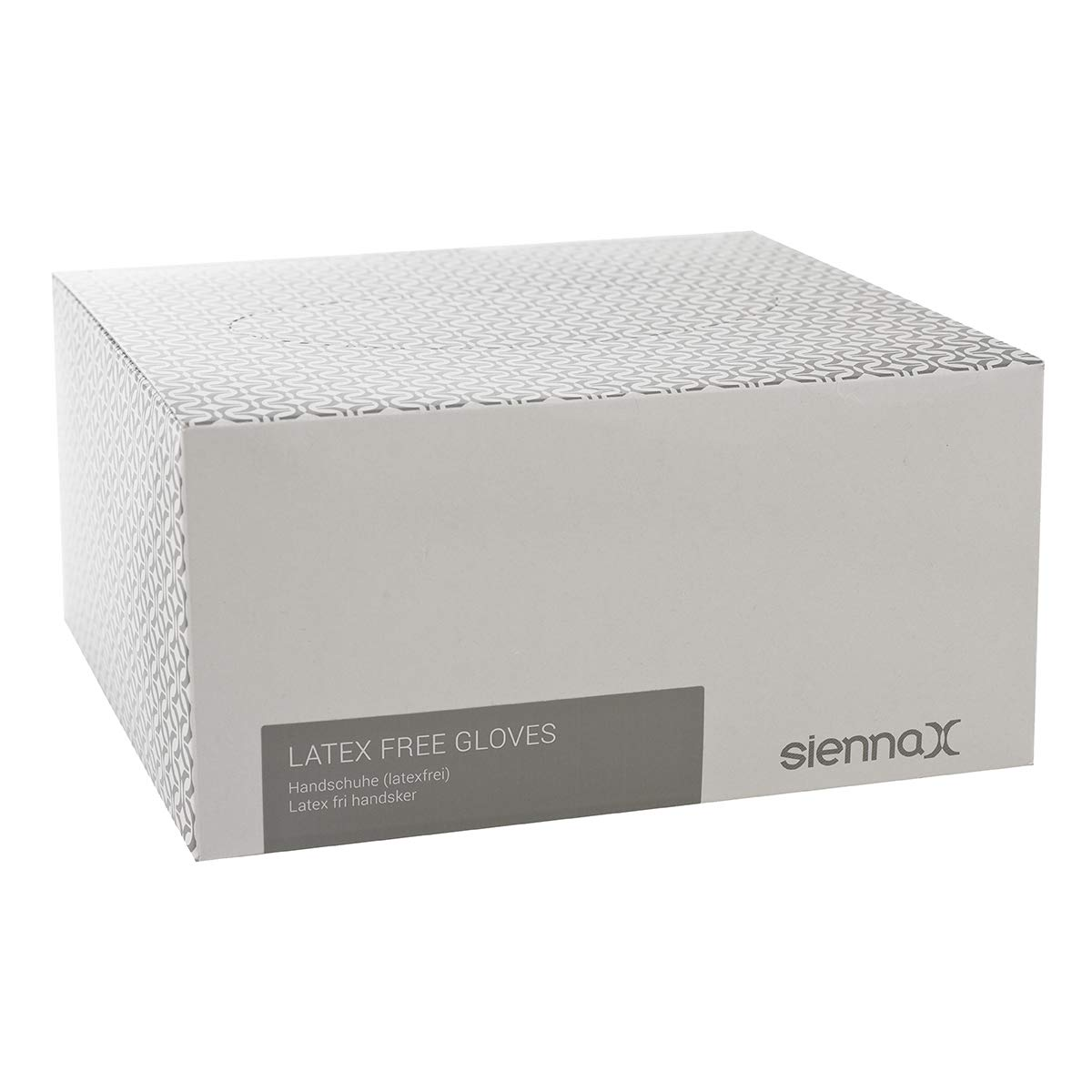 Sienna-x Gants jetables sans latex - 50 Pairs GLOVESLATEXFREEX50PAIRS