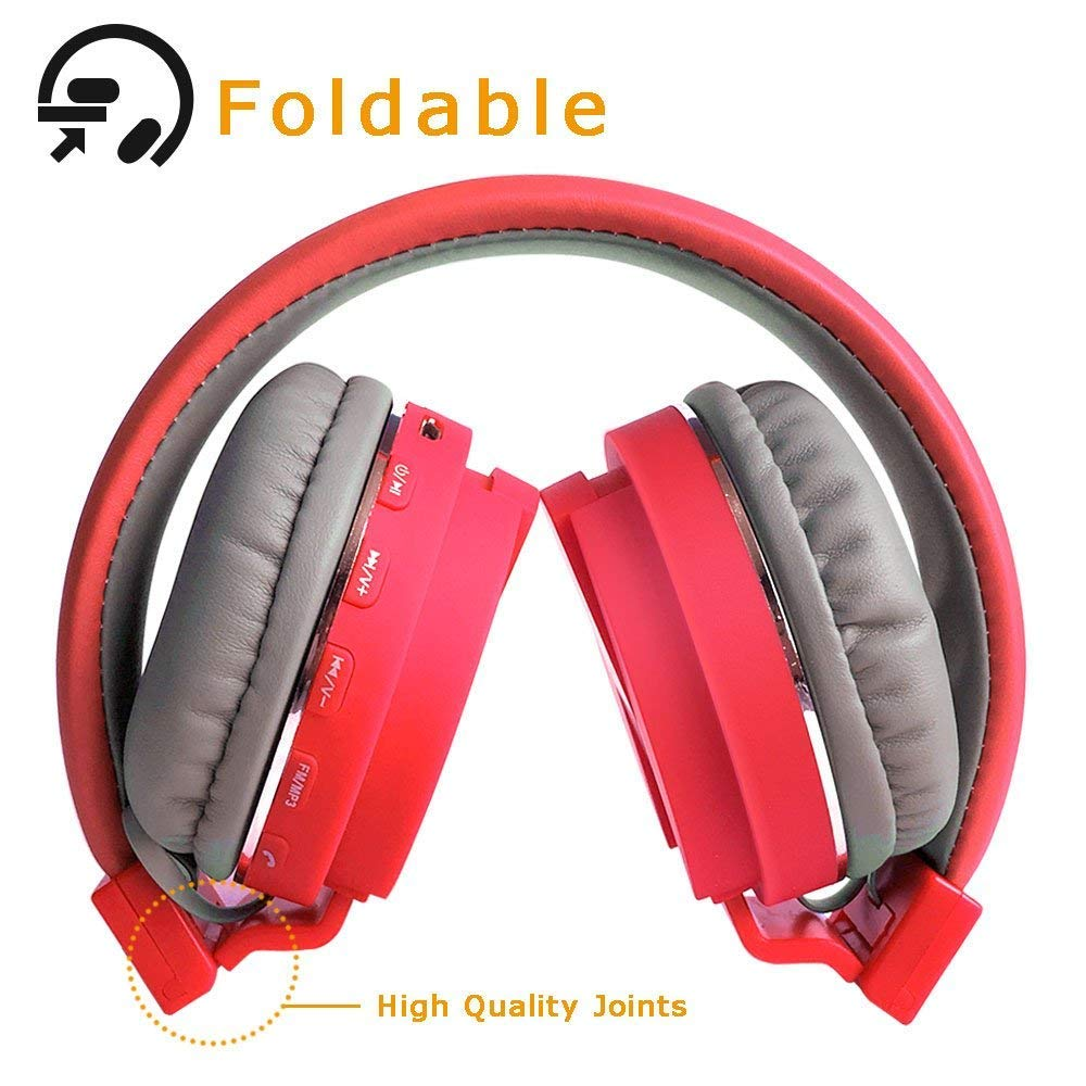 93975712c9d Piqancy SH-12 Wireless/Bluetooth Headphone with FM and SD Card Slot with  Music and Calling Controls Best Compatible with Every Phone Which Supports  ...