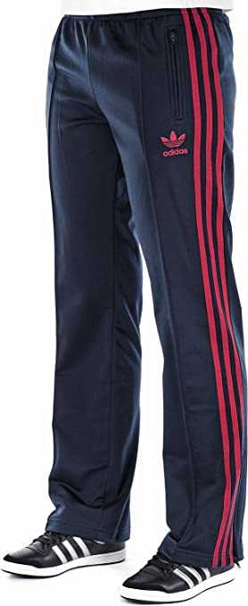 4f896a70cdcfd adidas Firebird Women's Tracksuit Trousers, Women, dark navy/university  red, ...