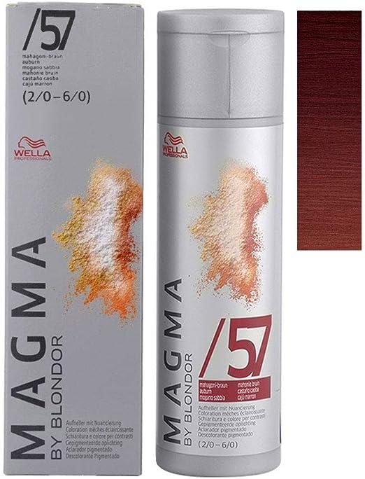 Wella Magma 57 caoba marrón 120 g