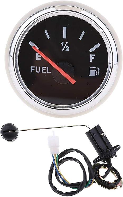 H HILABEE impermeable Medidor de Nivel de Combustible para Moto Set de Sensor de Nivel de Combustible
