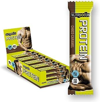 Nutrixxion PROTEINA Barritas (bajo en azúcar) Set 15 x 35g, FlavorName Choco Caramel