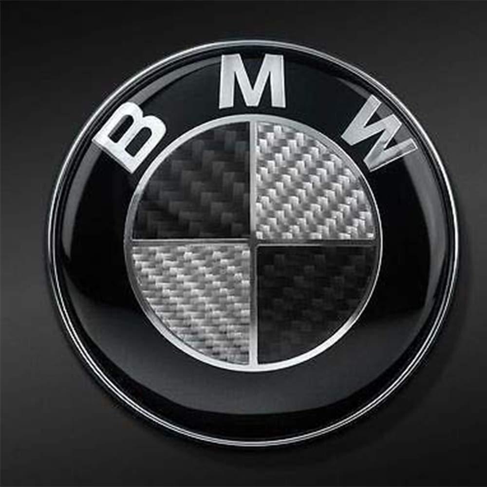 Myhonour Emblem 82mm Haube Logo Vorne mit blau /& wei/ß 1 3 5 7 Serie X1 X3 X5 X6 1