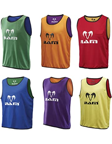 3a1532c43b0c Ram Rugby Reversible Training Bibs - Set of 10 Bibs - 3 Sizes - 3 Colours