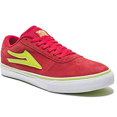 Lakai Shoes Trainers kids manchester red lime EUR 36 69c69393d