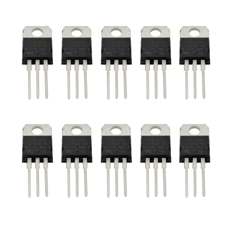 10PCS L7809CV L7809 Positive Voltage Regulator IC TO-220 Output 1.5A 9V