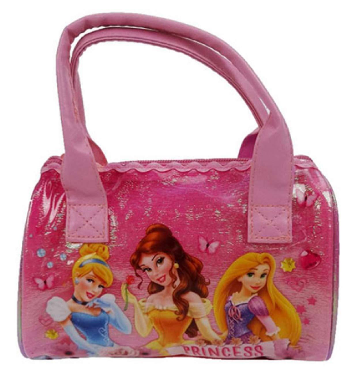 Pink 3 Liters Disney Princess Hand Luggage
