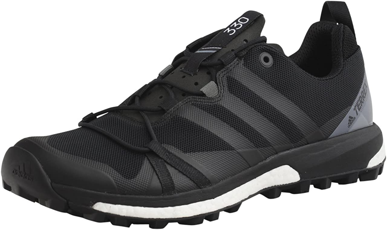 Sotavento escalera mecánica Oportuno  adidas Men's Terrex Agravic Shoe (10 - Black/Black/Vista Grey) | Trail  Running - Amazon.com