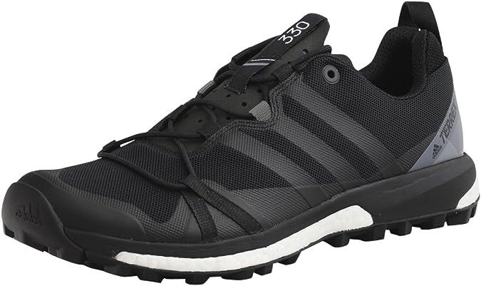 Oscuro amante Problema  Amazon.com | adidas outdoor Men's Terrex Agravic Speed Sneaker Size 9 -  Black/Grey | Trail Running