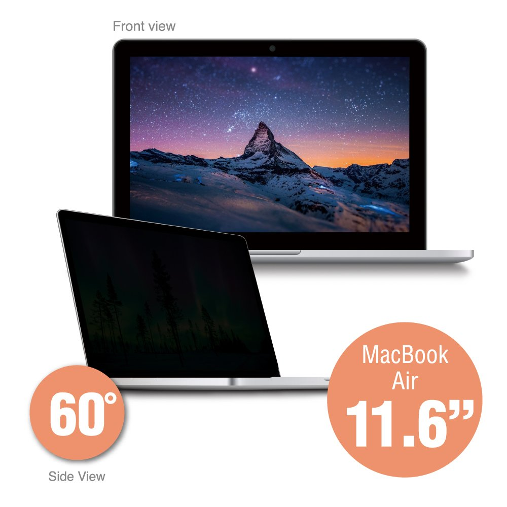SenseAGE Anti-Blue Light Privacy Screen Protectors Filter for Apple Macbook Air 11.6'' Retina Display by SenseAGE (Image #1)
