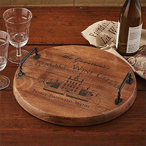 Palace Wine Cellar Wood Tray -