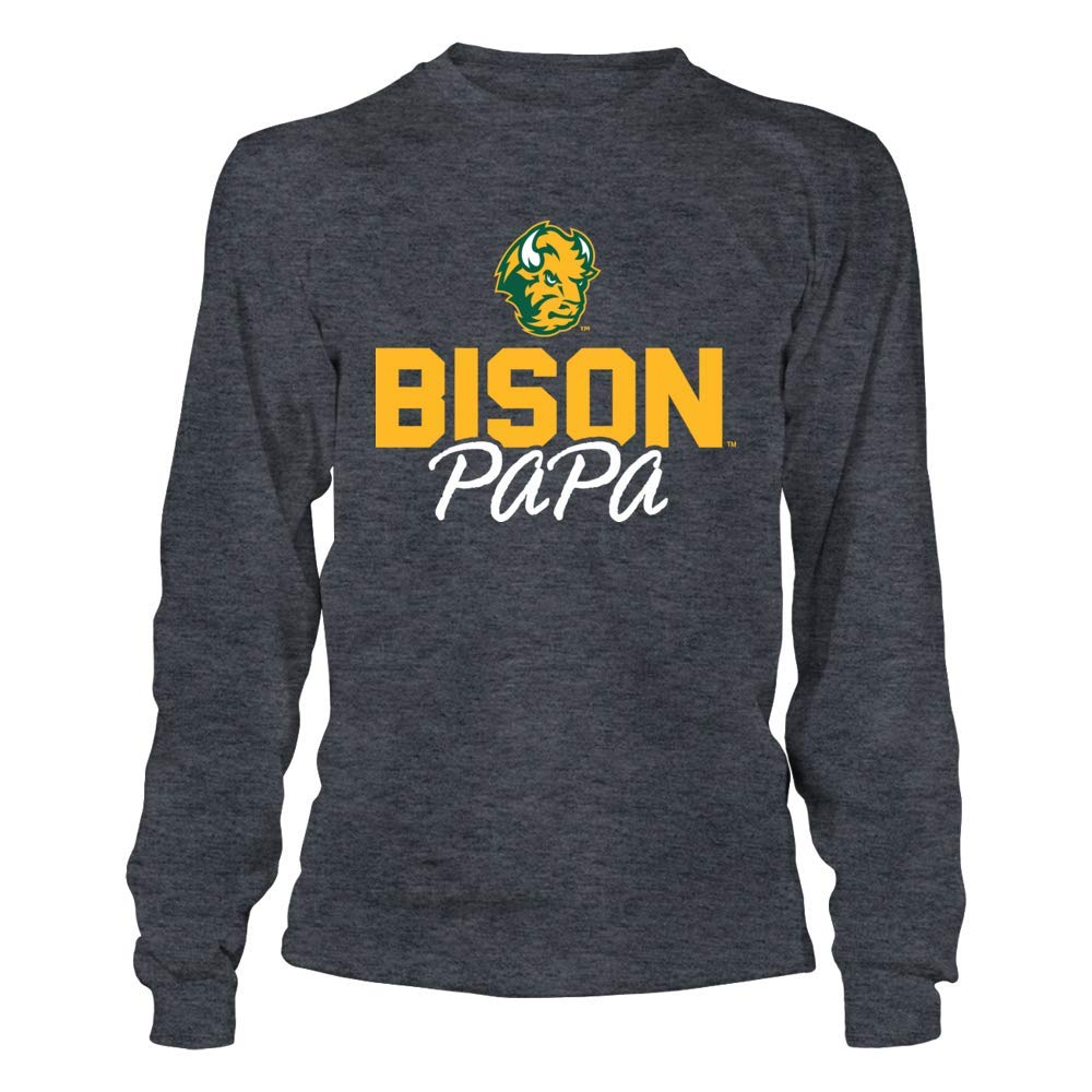 Tank Papa T-Shirt T-Shirt FanPrint North Dakota State Bison T-Shirt