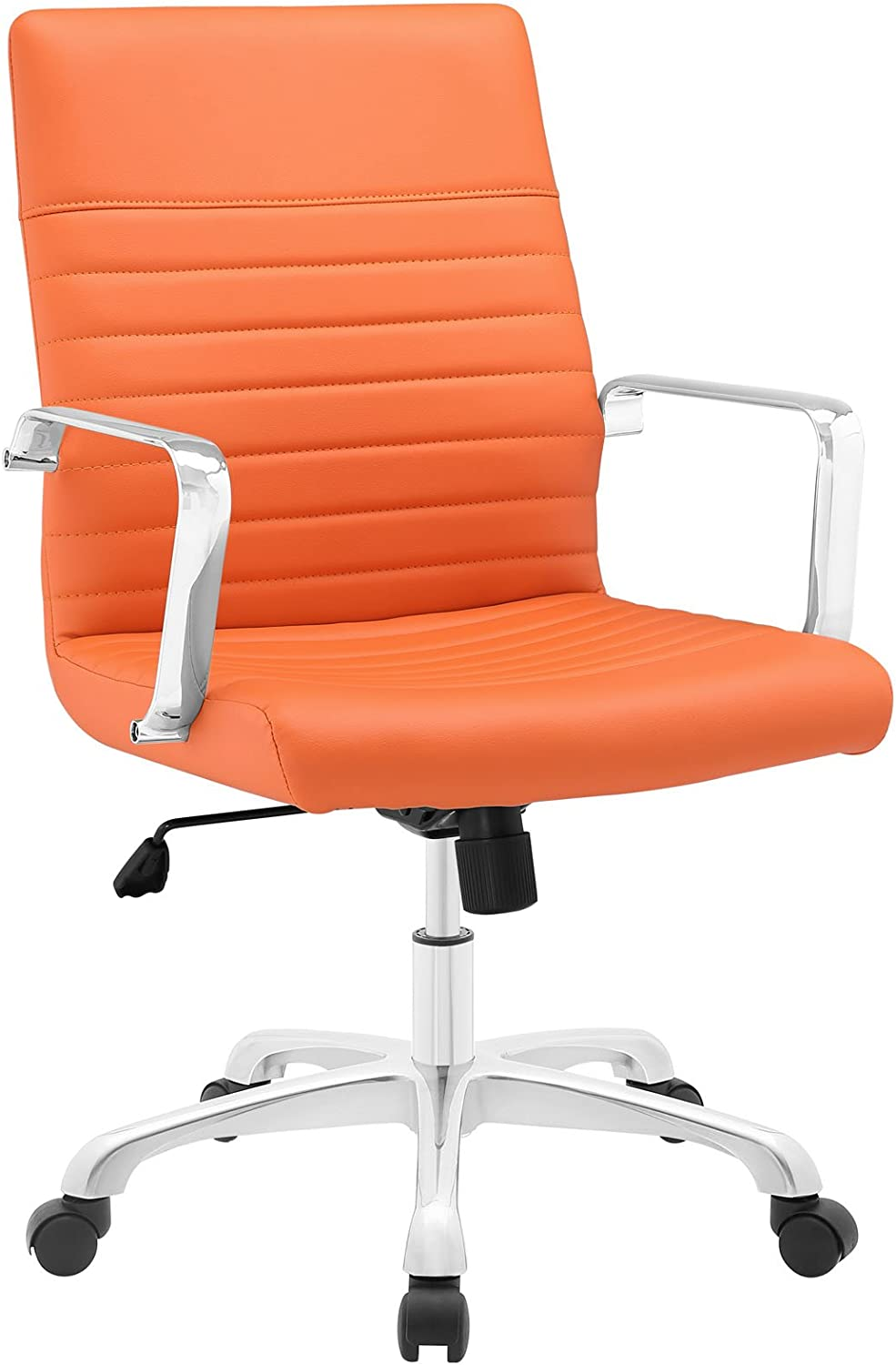 Modway MO-EEI-1534-ORA Finesse Mid Back Office Chair, Orange