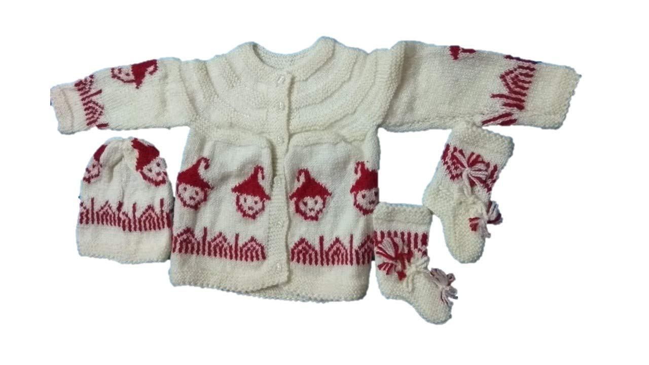 Buy ViniCreations Baby Hand Knitted Woolen Sweater Online at