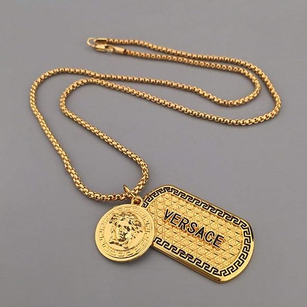 Mit anhänger herren goldkette Goldkette mit