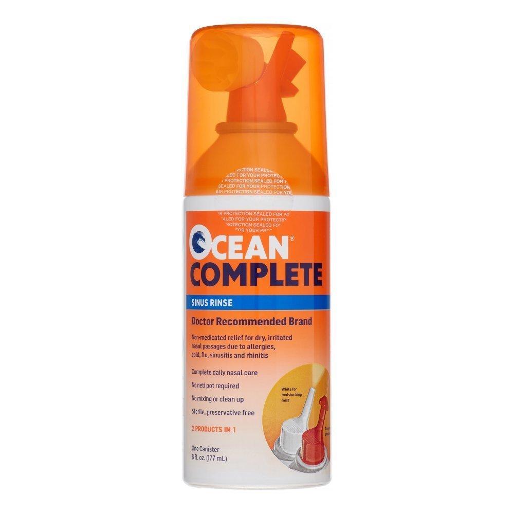 OCEAN Complete Sinus Rinse 6 oz (Pack of 5) by Ocean
