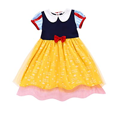 86f9084734f Petite fille robe Cosplay performance princesse Longue Robe et Manches  Courtes Tulle Robe Costume Conte de