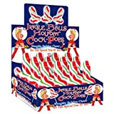 Hott Products Jingle Balls Holiday Cock Pops 12 Pieces Display