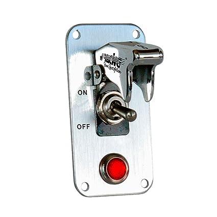 Simoni Racing ISR//1-L Interruptor Universal con Led Rojo