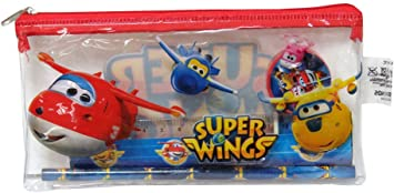 ALMACENESADAN 2394; Pack Escolar Superwings; 5 Piezas ...