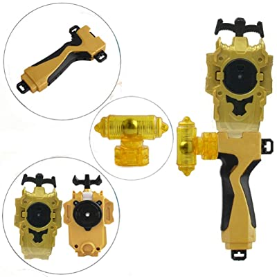 StormGyro Battling Battle String Launcher and Launcher Grip with Weight Damper Set(Gold): Toys & Games