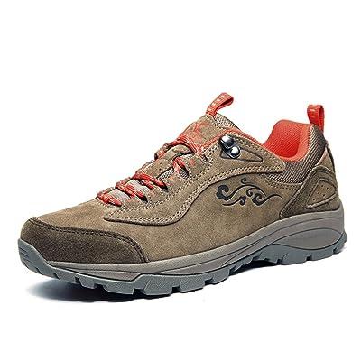 Xiang Guan Femme Suède Imperméable Outdoor Sport Chaussures de Randonnée Trekking Trail Marche Shoes