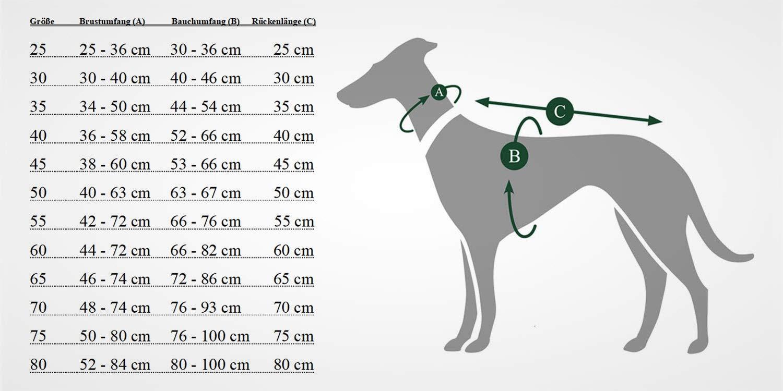 Hunter Dog Dog Dog Coat Uppsala Extreme 30 Nero Grigio, XS 8ca42f