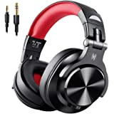 OneOdio 高性能 ヘッドホン 有線 モニターヘッドホン 低音強化 DJ用 ヘッドホン 密閉型 室内 楽器練習 宅録 DTM A71