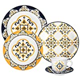 Cheap Oxford 20 Piece San Luis Collection Daily Dinnerware Set