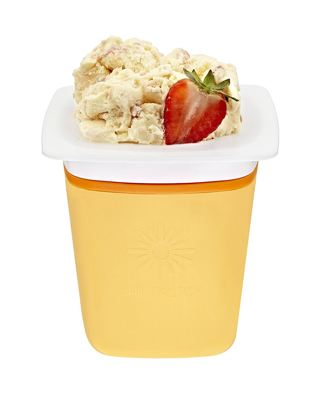 Chill Factor Frozen Yogurt Maker - Peach