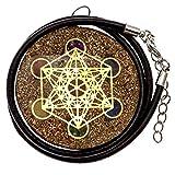 Merkaba Sacred Geometry Orgonite Pendant and