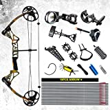 "Compound Bow Package,M1,19""-30"" Draw Length,19-70Lbs Draw Weight,320fps IBO Via Fedex Service Delivered Within 7Days"