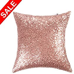 Sequins Decor Pillow Case