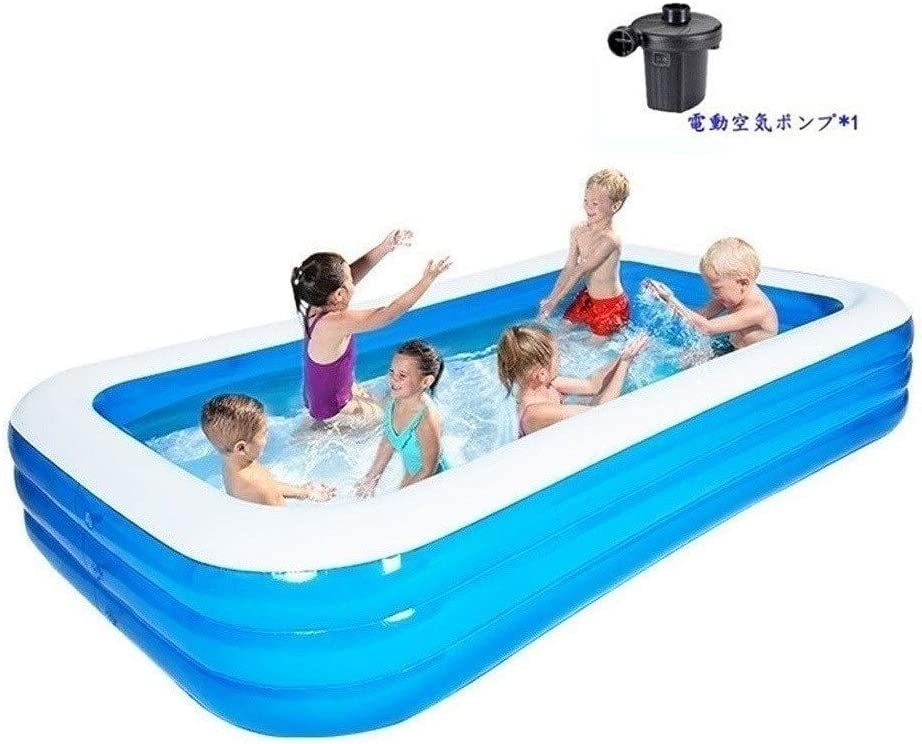 Llnn Swimming Pool For Kids Family Interaction Summer Pool Party Portable Outdoor Garden Backyard Play Water Pool 365x200x60 Cm Oversized Design Home Children S Pool With Electri Home Kitchen