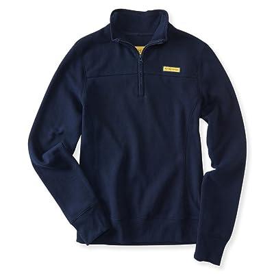 Aeropostale Womens Fleece 1/4 Sweatshirt: Clothing