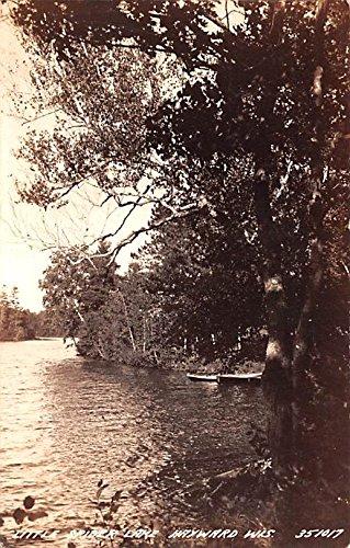 Little Spider Lake Hayward, Wisconsin postcard (Spider Postcard)