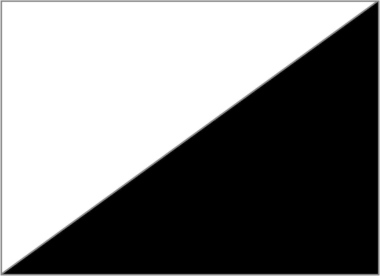 MarpaJansen Duo-Color Color Blanco y Negro Papel de Origami 20 x 20 cm, 60 Hojas, 80 g//m2