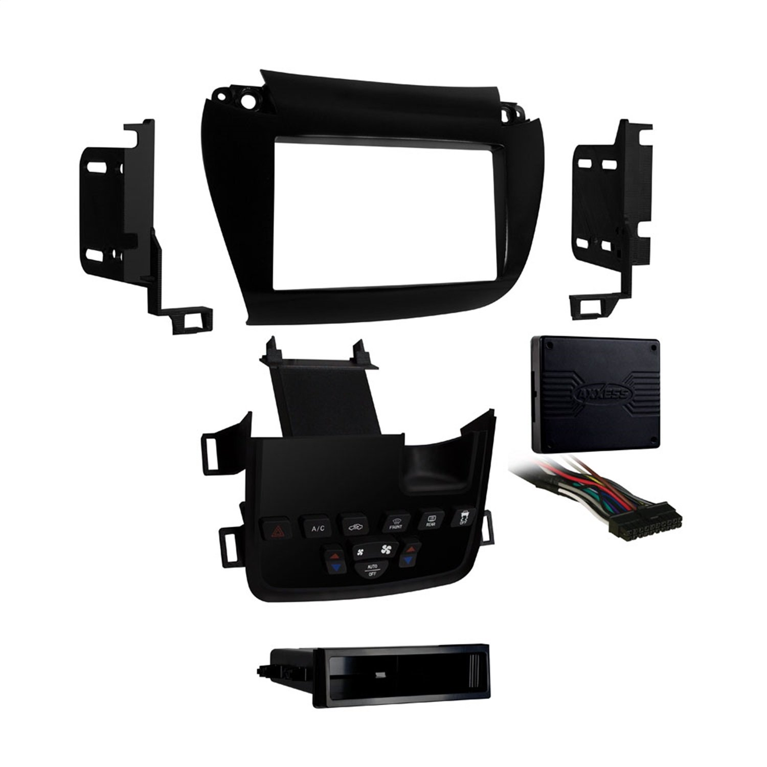 Metra 99-6520B 2011-Up Dodge Journey Dash Kit with Factory 4.3-Inch Screen Retention (Matte black)