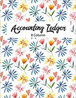 8 column accounting ledger accounting ledger notebook for small