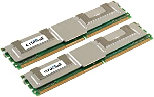 Crucial 4GB kit (2GBx2) DDR2 667MHz (PC2-5300) CL5 Fully Buffered ECC 240pin- FBDIMM - CT2KIT25672AF667 / CT2CP25672AF667