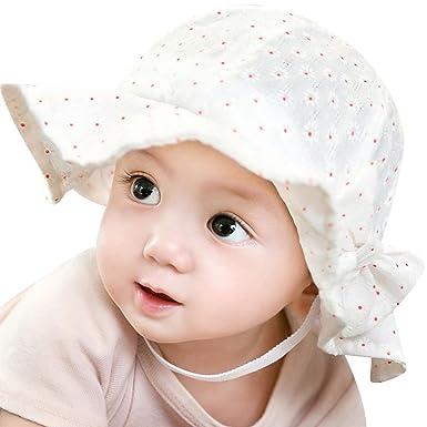 Crazy-Store Sun Cap Summer Outdoor Baby Girl Hats Sun Beach Bucket Hat(White)  Children Gift  Amazon.in  Clothing   Accessories 9571f14c4ee