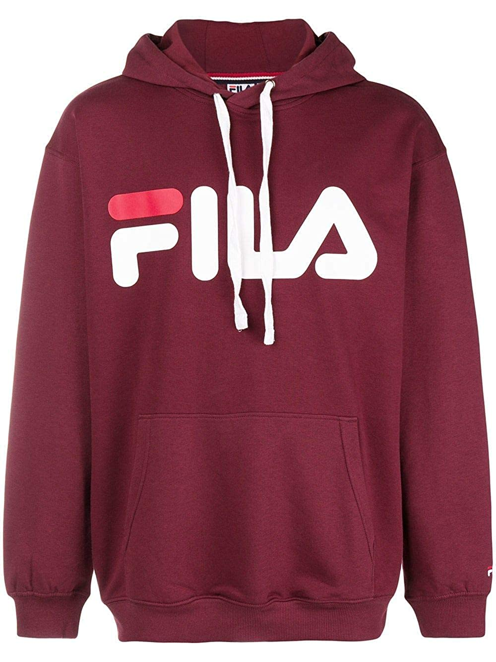 Fila Luxury Fashion Uomo 681462D10 Bordeaux Felpa |: Amazon