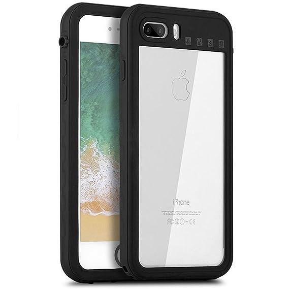 best authentic ba040 6a324 Senbor iPhone 7 Plus / 8 Plus Waterproof Case, Full Sealed Dry Cover Drop  Resistant Underwater/ Shockproof/ Dirtproof/ Snowproof Phone Case IP68 ...