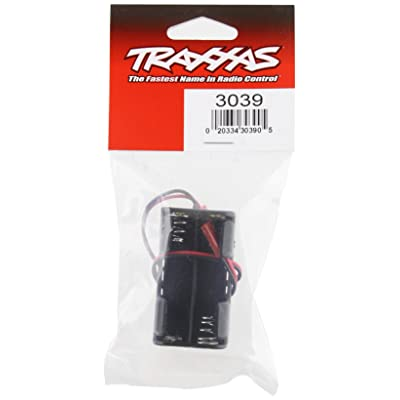 Traxxas 3039 4-Cell Battery Holder, No switch: Toys & Games