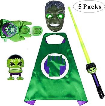 Fundisinn Comics Disfraz de superhéroe de Dibujos Animados, Escudo ...