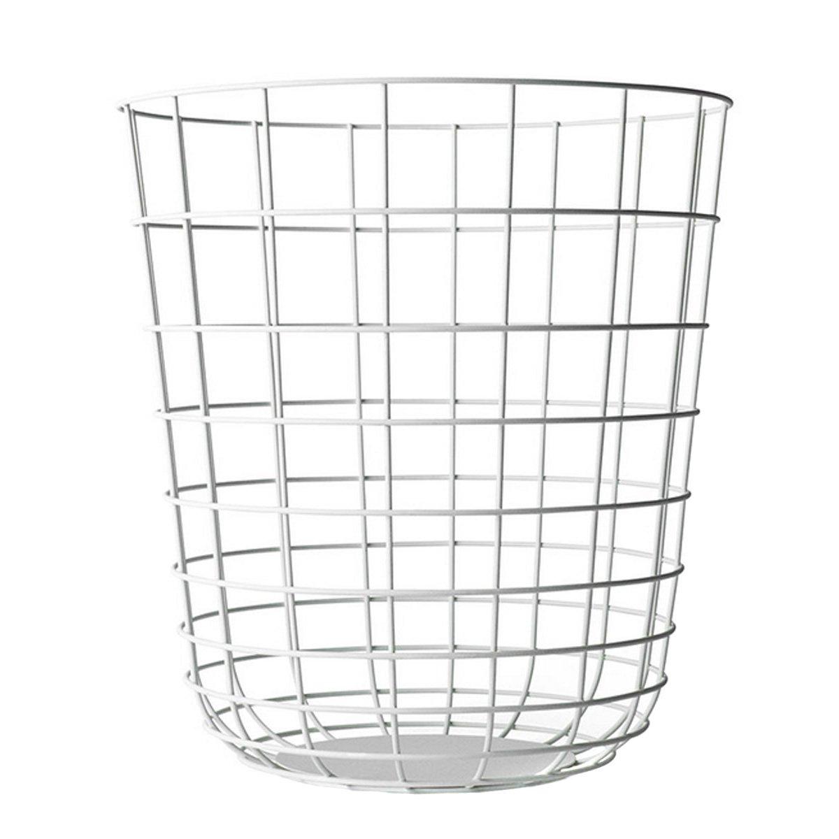 Menu 9000639 Draht-Papierkorb, Höhe 35 cm, Durchmesser 32 cm, weiß ...